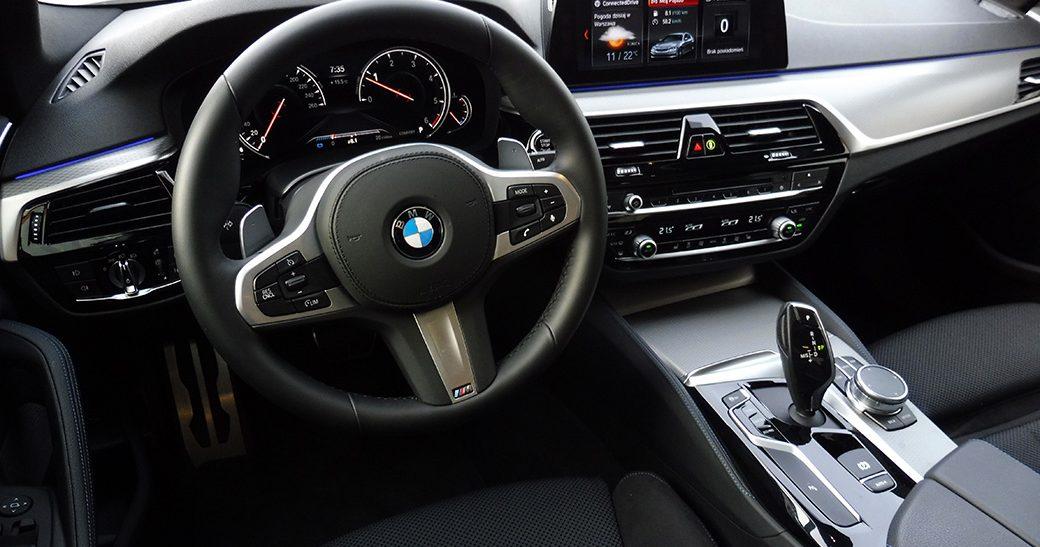 Wynajem BMW 520 Warszawa #13