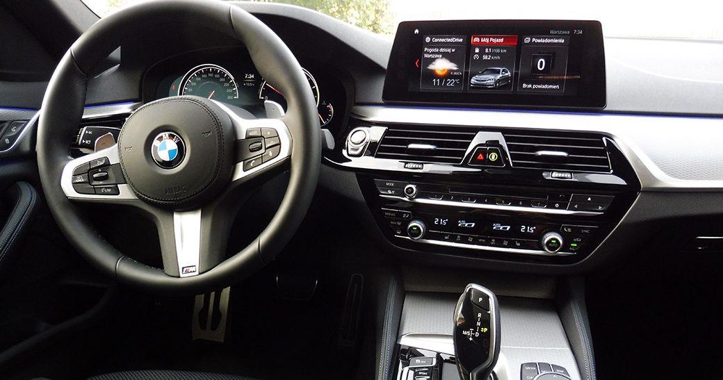 Wynajem BMW 520 Warszawa #14