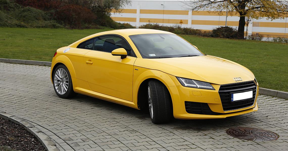 Audi TT Warszawa #1