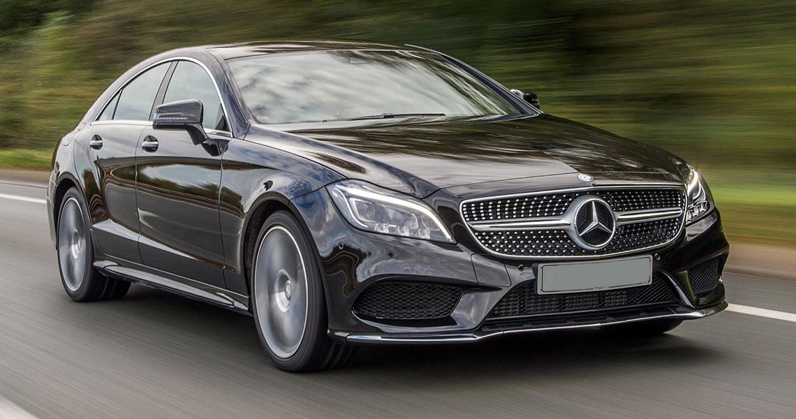 Mercedes Benz CLS Warszawa #1