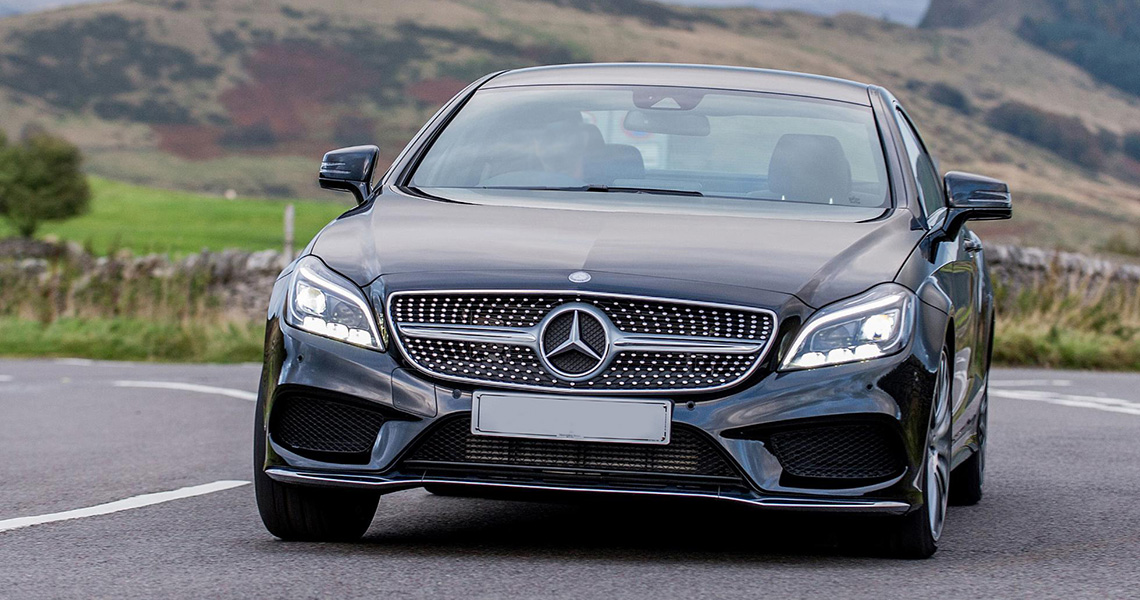 Mercedes Benz CLS Warszawa #3