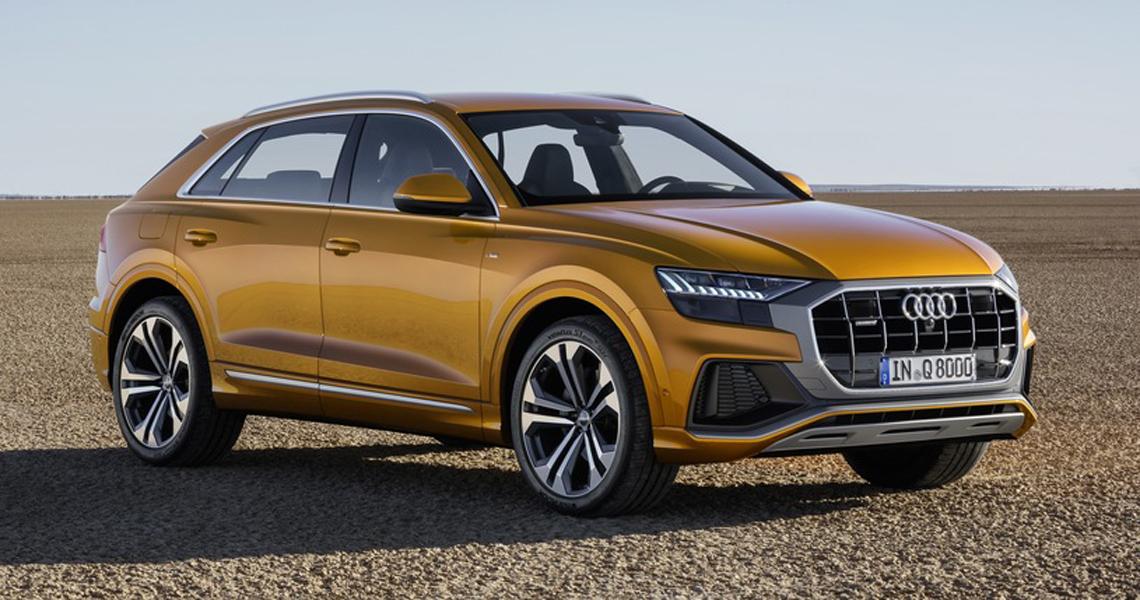 Audi Q8 Warszawa #1