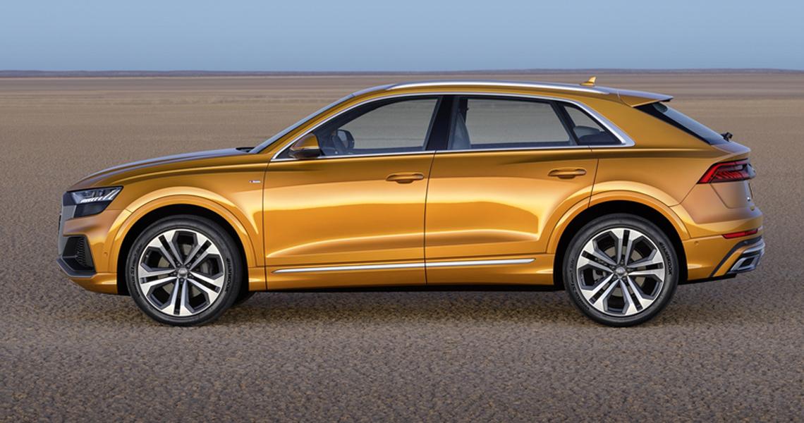 Audi Q8 Warszawa #2