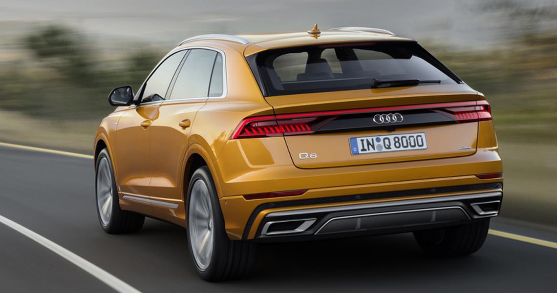 Audi Q8 Warszawa #3