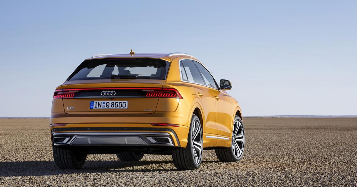 Audi Q8 Warszawa #4