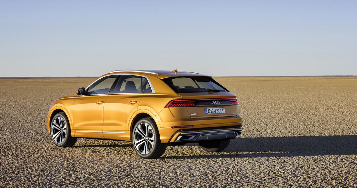 Audi Q8 Warszawa #7